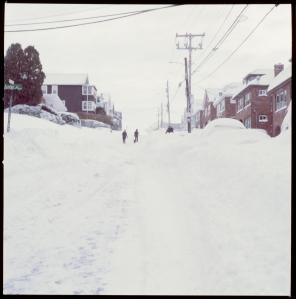 Snow uphill....