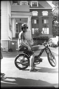 Rides on Frank...