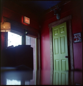 The Green Door.