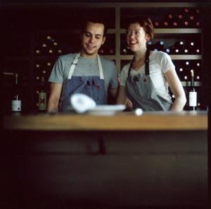 Jill Mathias and Juan Casselet.  Ches Nous